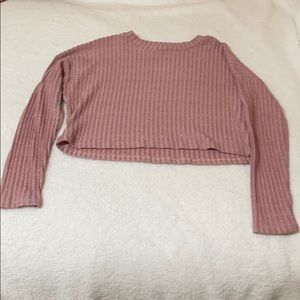 Forever 21 Long Sleeve Cropped